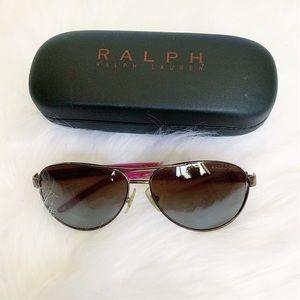 Ralph Polarized Sunglasses RA4004 - Pink/Brown
